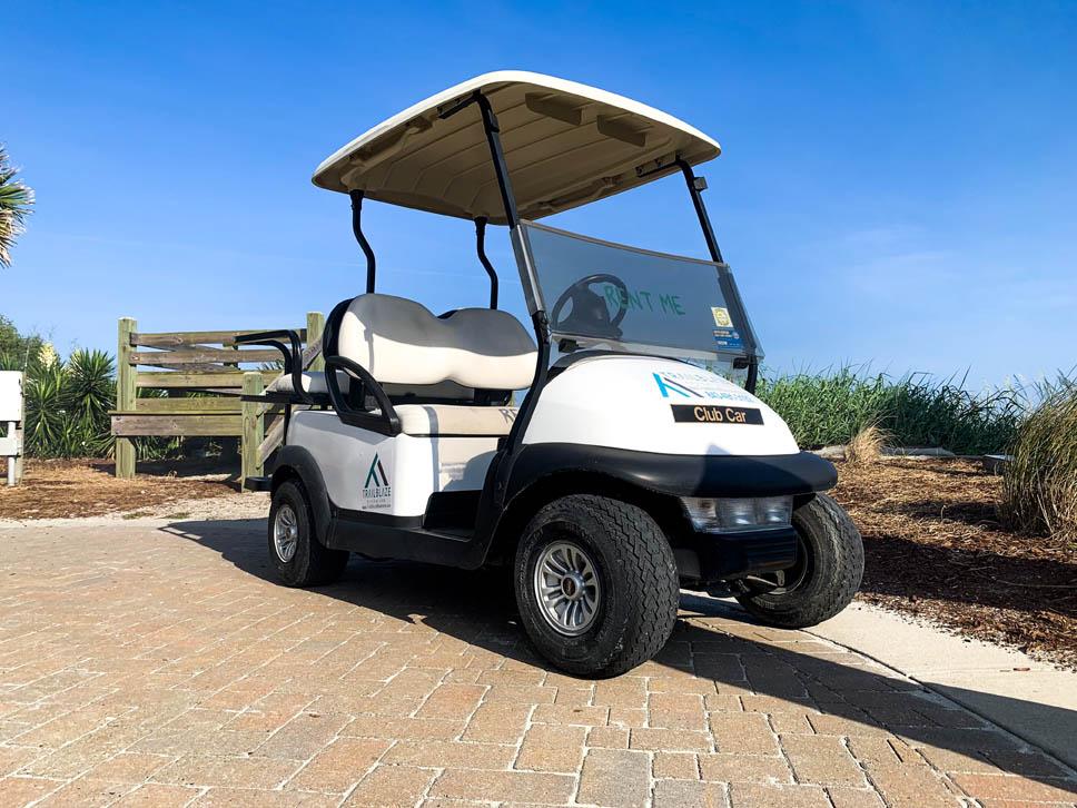 Standard 4 Passenger Golf Cart Myrtle Beach
