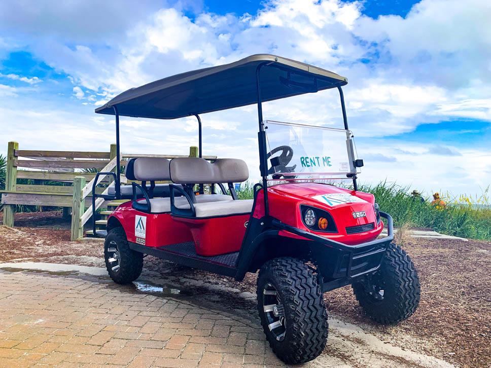 6 Passenger Lifted Golf Cart Myrtle Beach