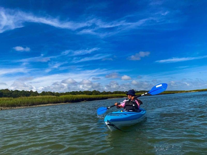 Private Island Adventure Kayak Tour, Waities Island
